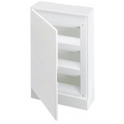 Щит ABB Basic E на 36 модулей, настенный, непрозрачная белая дверь
