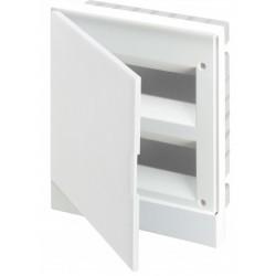 Щит ABB Basic E на 16 модулей, встраиваемый, непрозрачная белая дверь