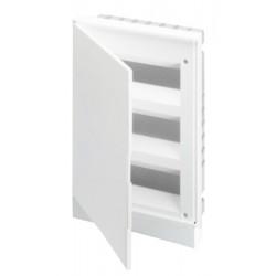 Щит ABB Basic E на 36 модулей, встраиваем, непрозрачная белая дверь