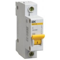 Автоматический выключатель IEK ВА47-29 1Р 40А 4,5kA С