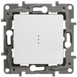 Выключатель одноклавишный проходной с подсветкой (авто. зажим)