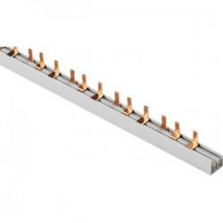 Шина соединительная 3П 63А PIN 1 метр (гребёнка)
