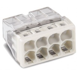 WAGO 8-проводные клеммы COMPACT PUSH WIRE без пасты